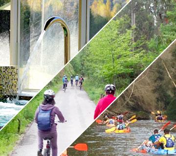 rutas multiaventura spa kayak y bicicleta