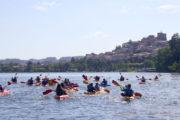 Alquiler de Kayaks para navegar en grupo por el Río Miño