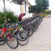 Bicicletas entrada ecopista