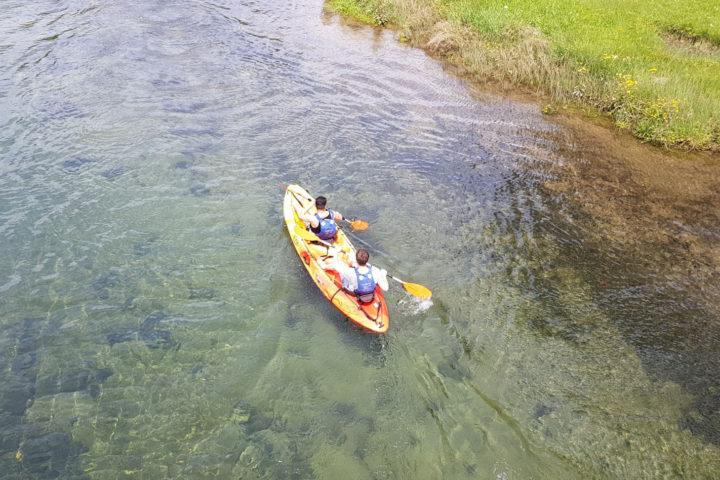 Pareja en Río Tamuxe