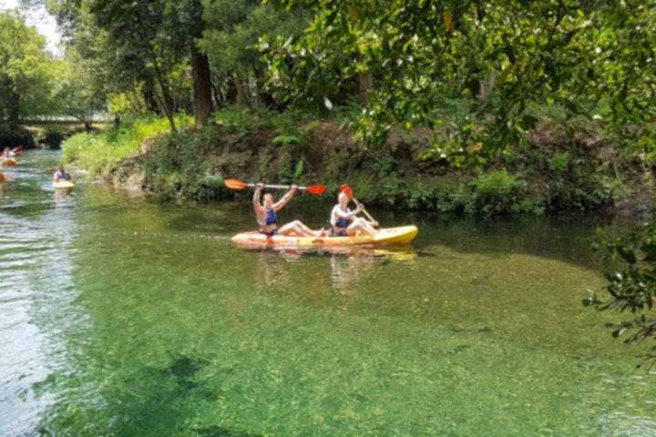 kayak en el río Tamuxe