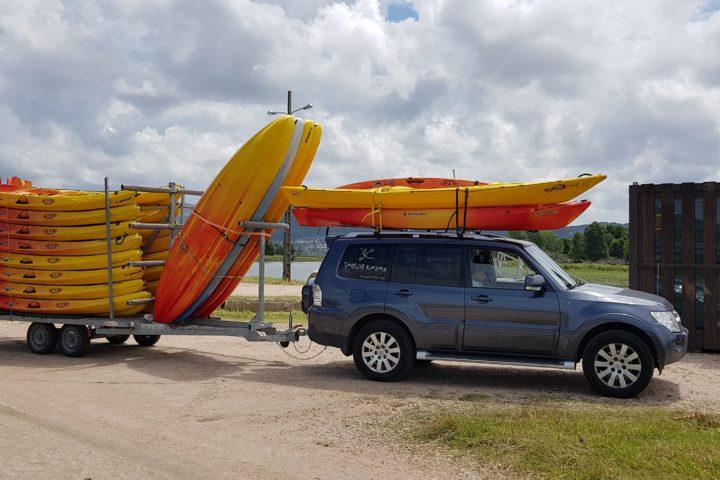 Remolque kayaks